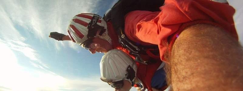 Arnbruck Fallschirmspringen Tandemsprung