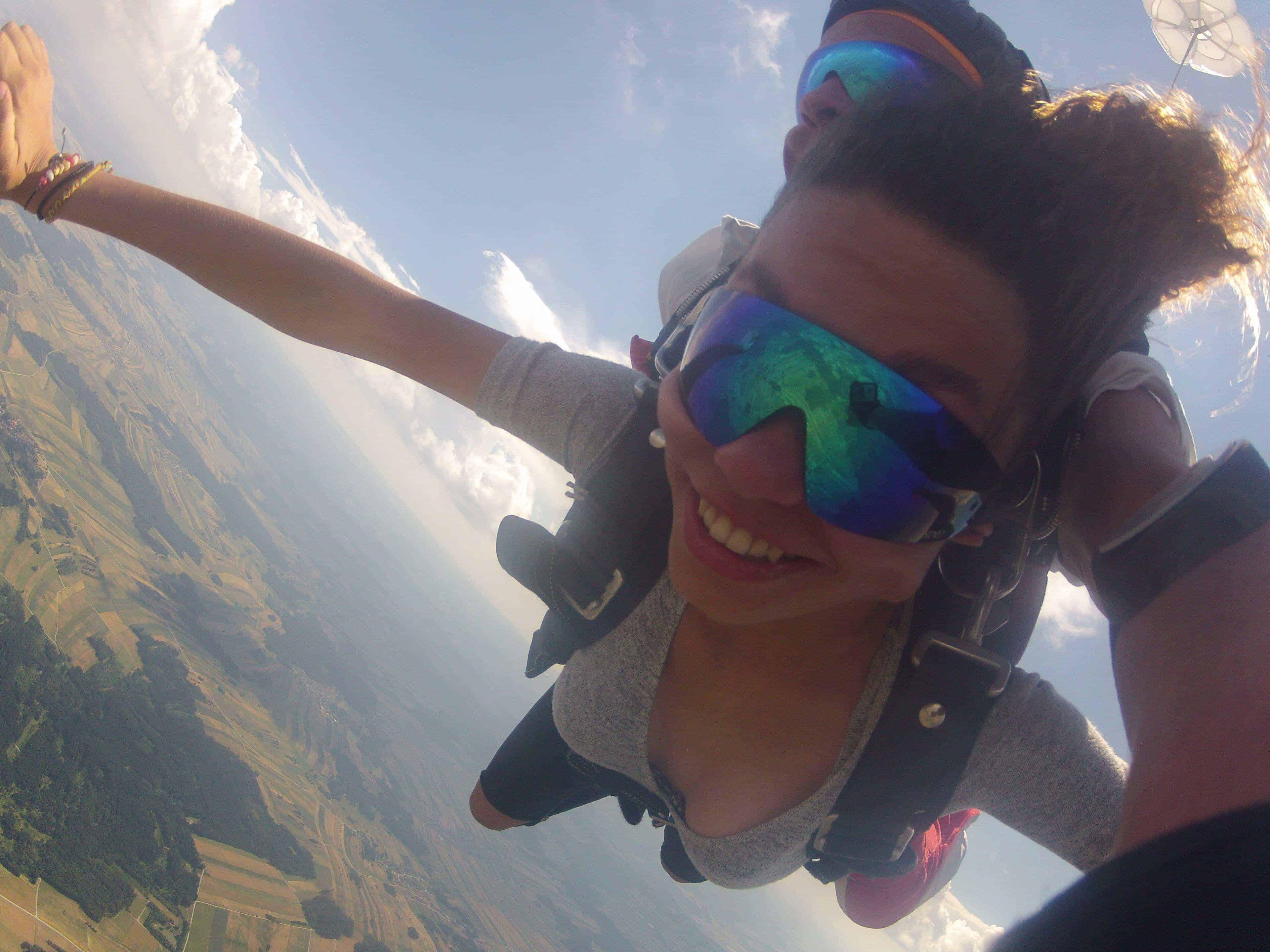 Fallschirmspringen Bayern Tandemsprung