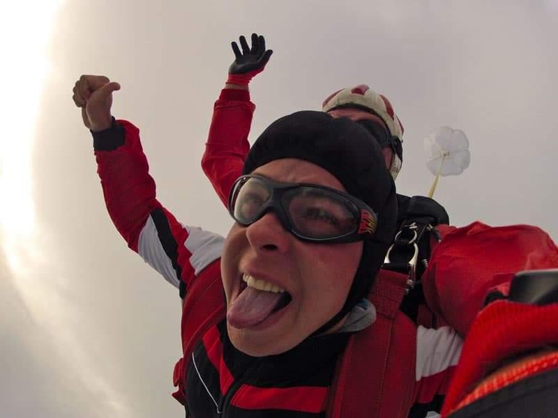 Fallschirmspringen Kunde aus Krems in Niederösterreich 4