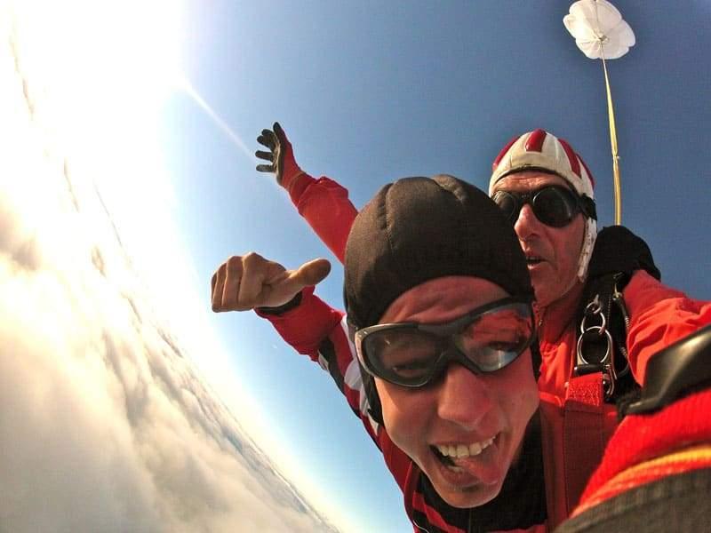 Fallschirmspringen Tandemsprung Rabatt Angebot