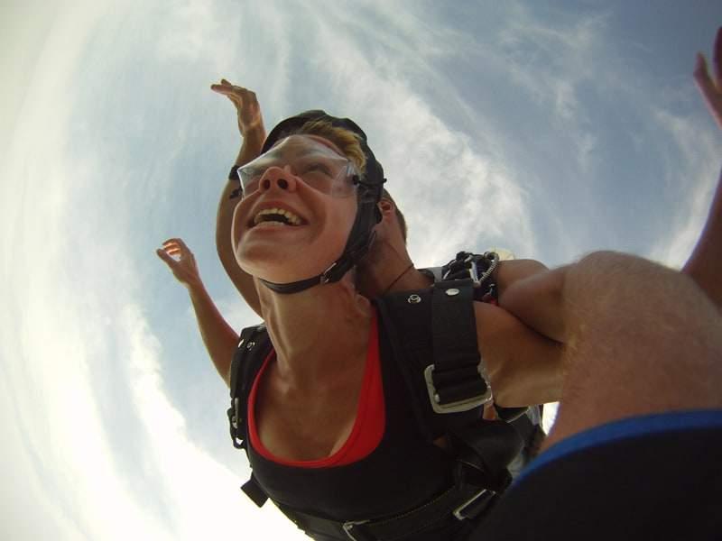 Fallschirmspringen Abenteuer