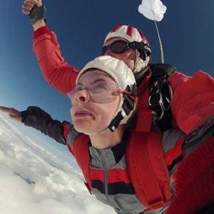 Fallschirmsprung Klattau Tandemsprung