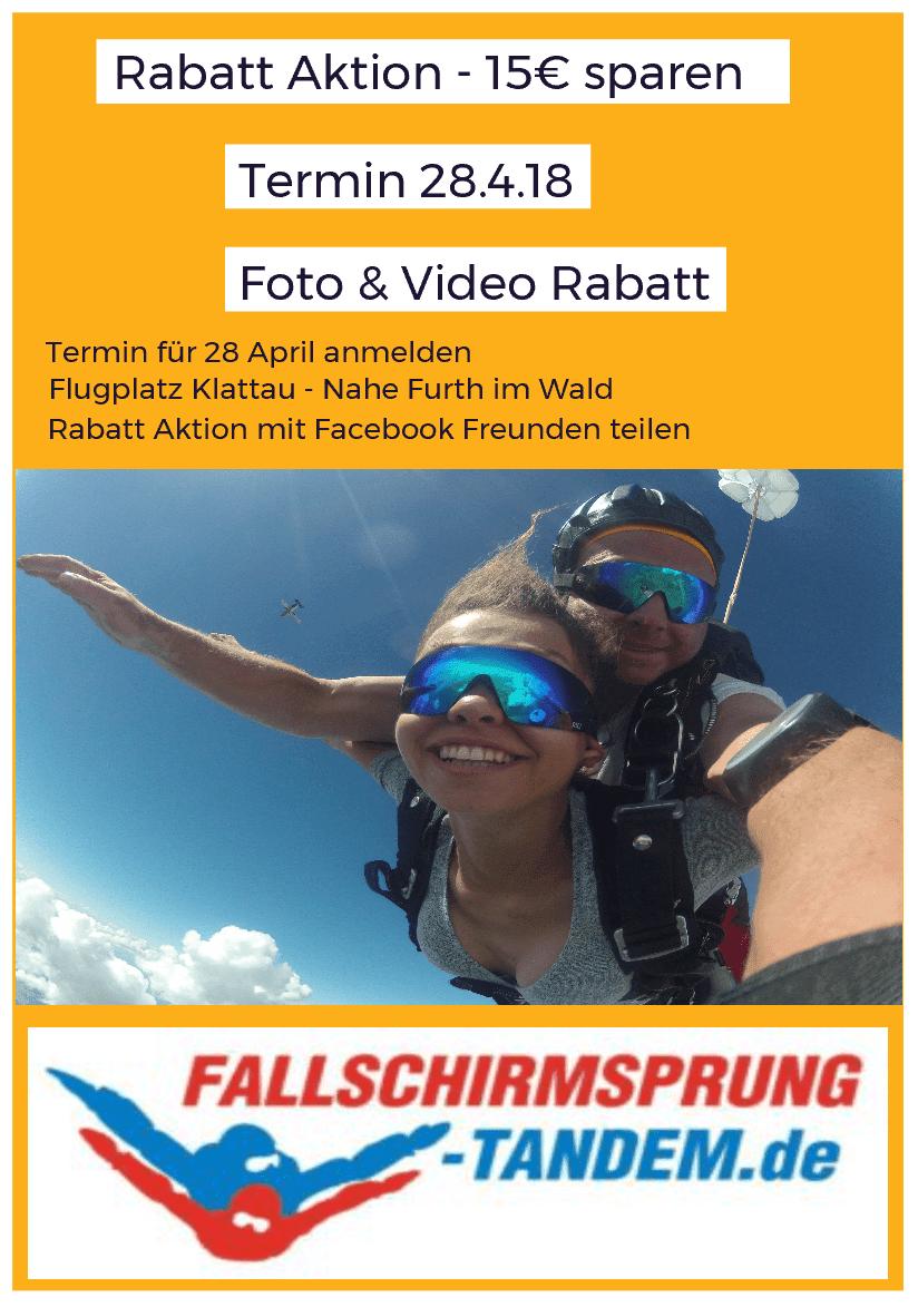 Fallschirmspringen Rabatt Preis Video & Fotos