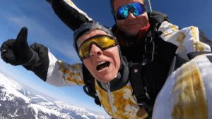 Fallschirmsprung Österreich Zell am See