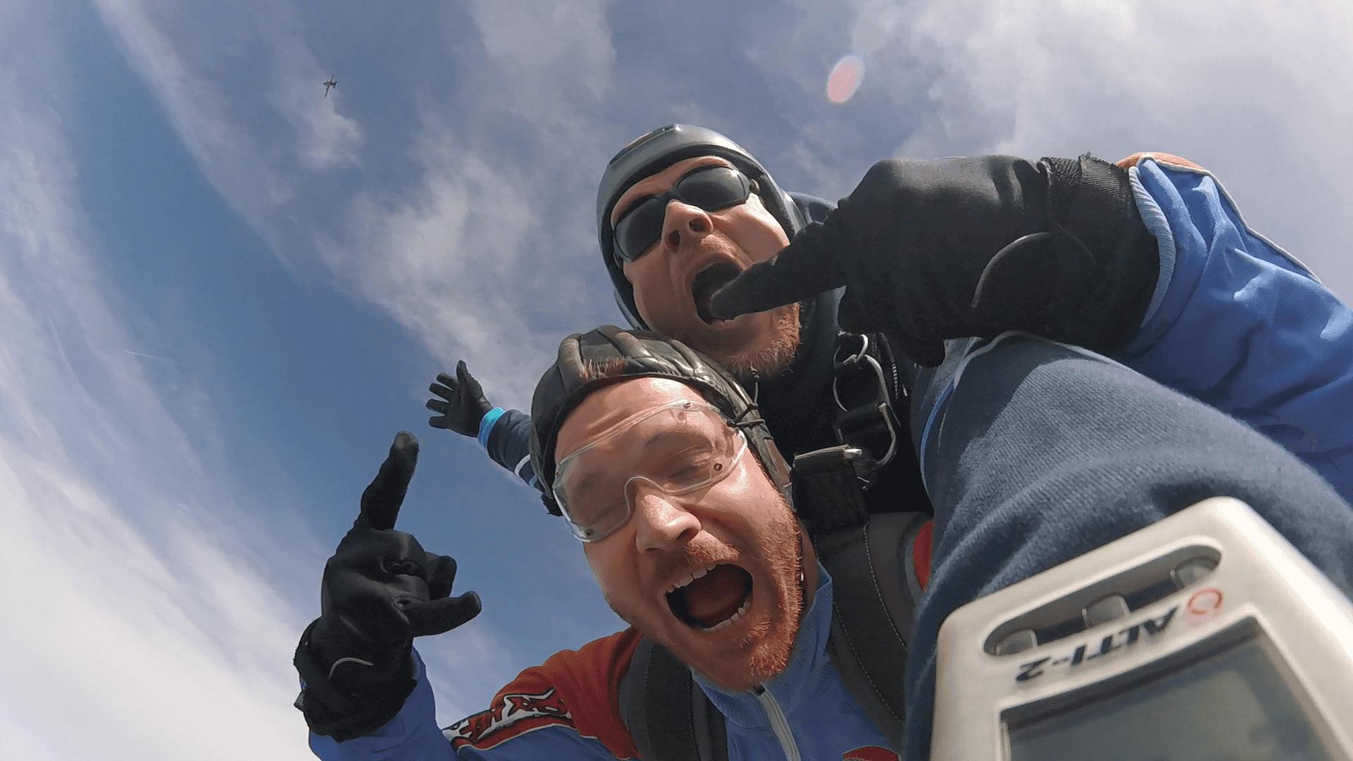 Fallschirmspringen Oberpfalz Chamer Flugtage