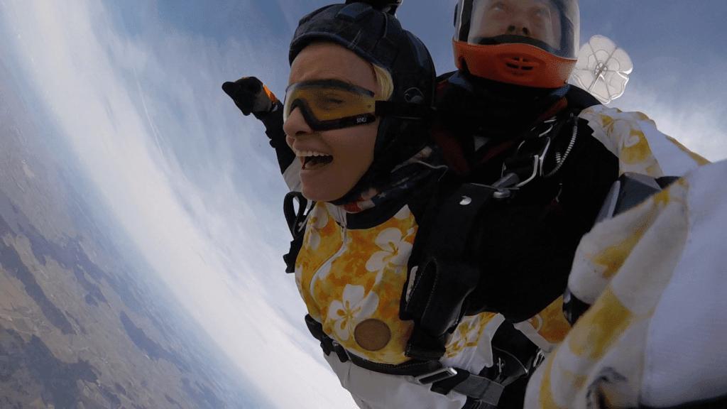 Fallschirmsprung Mittelfranken