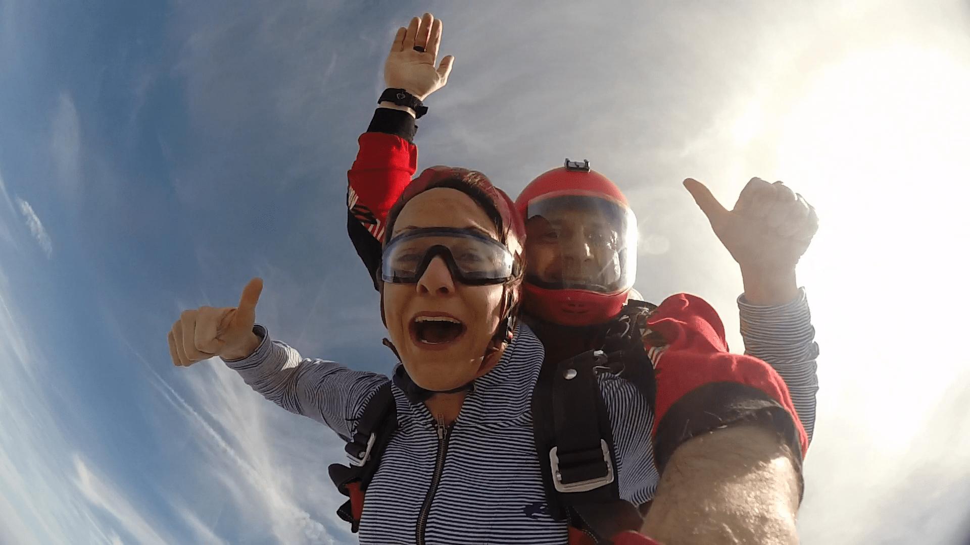 Fallschirmspringen Bayern als Geschenk
