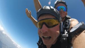 Tandemsprung Viechtach Niederbayern Fallschirmspringen 361