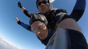 Atting Tandemsprung Niederbayern Fallschirmspringen 283