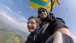 Atting Tandemsprung Niederbayern Fallschirmspringen 330