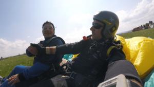 Atting Tandemsprung Niederbayern Fallschirmspringen 434