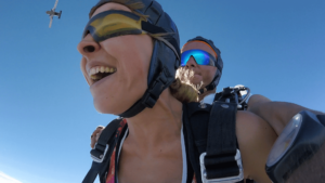Skyvan Tandem Fallschirmspringen Bayern
