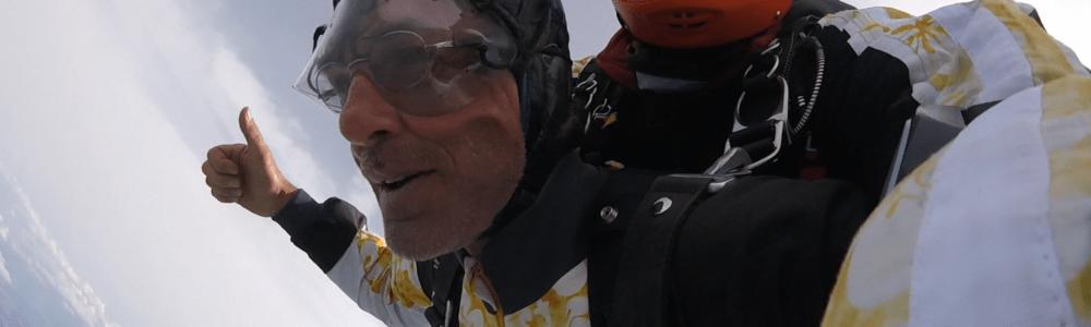 Fallschirmspringen Oberpfalz Passagier aus 6000 Meter Höhe
