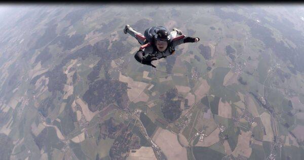 Höhenmesser Höhenkontrolle beim Fallschirmspringen