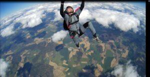 AFF Student Salto rückwärts
