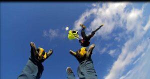 Skydiver Fallschirm Öffnung
