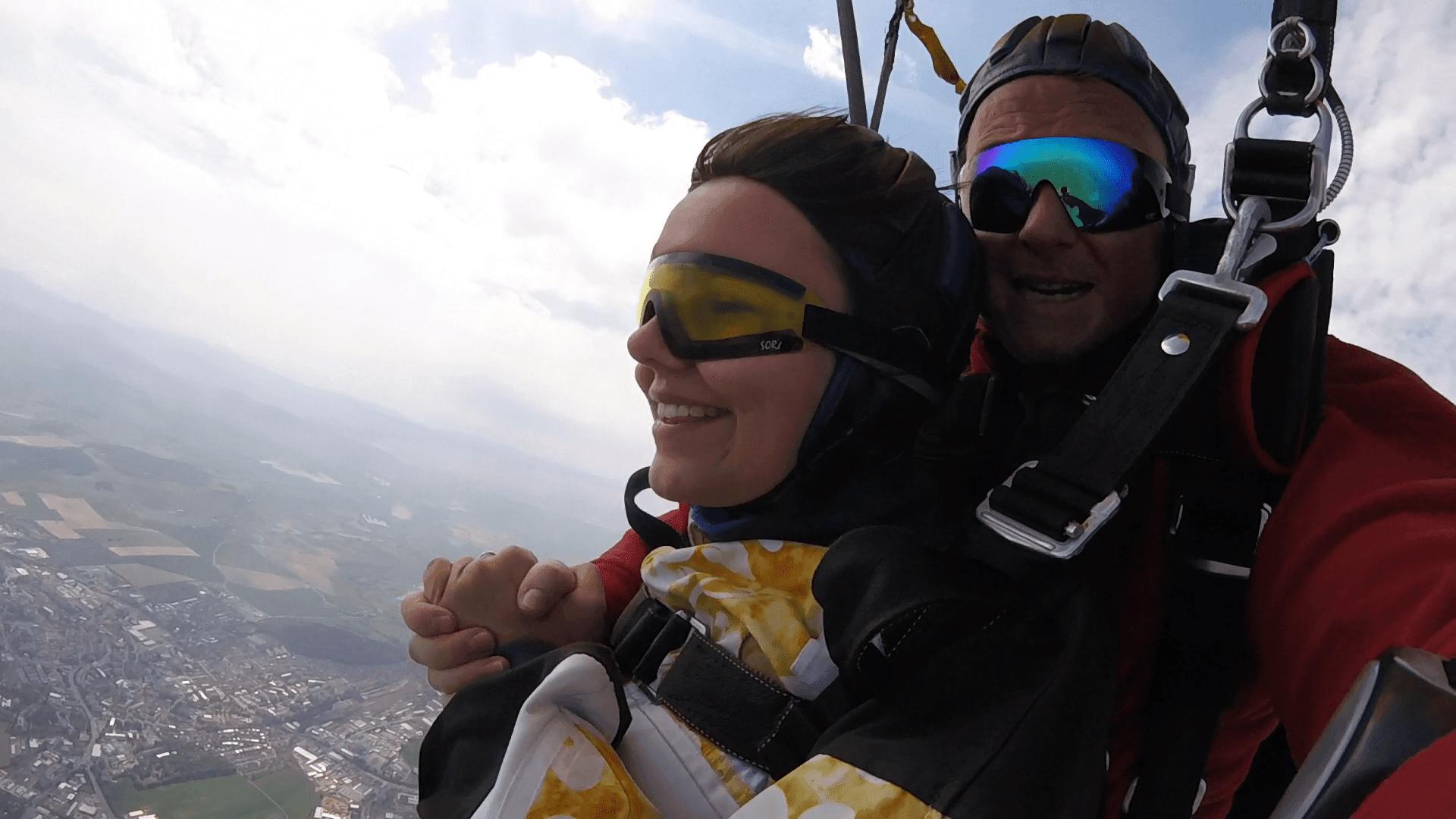 Fallschirm Tandemspringen Klattau Nähe Furth im Wald