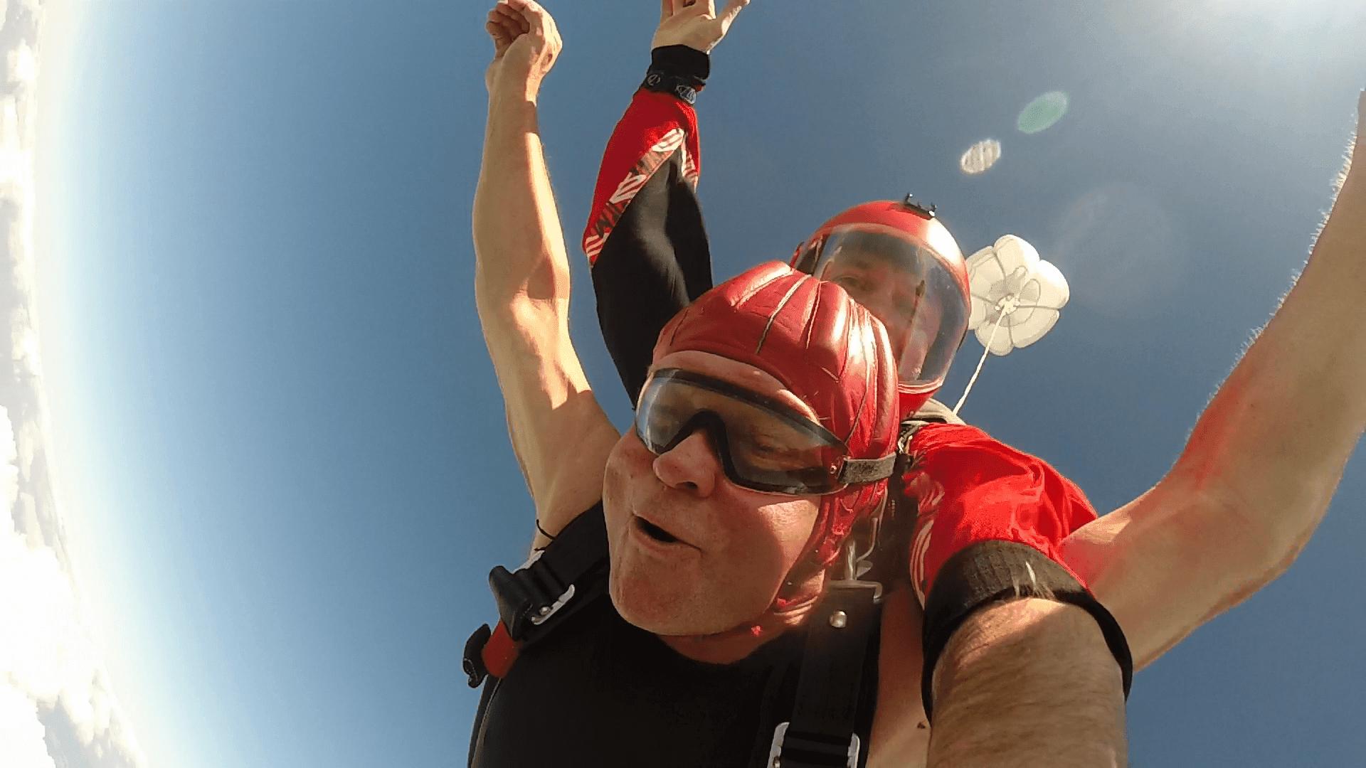 Tandem Fallschirmspringen Chamer in Klatovy