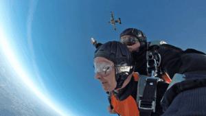 Skyvan Tandem Exit Shot