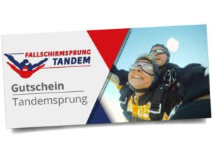 Tandemsprung Bayern 6000 Meter Gutschein