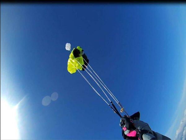AFF Ausbildung des Fallschirmsprung Schülers