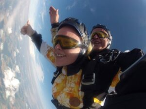 Tandem Fallschirmspringen 6000 Meter
