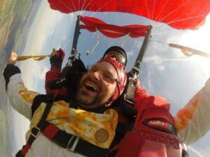 Fallschirm Sprung Tirol Geschenk Gutschein