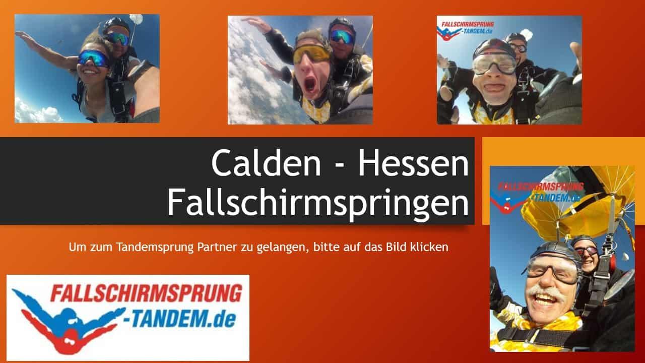 Fallschirmspringen Hessen Tandemsprung