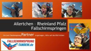 Rheinland Pfalz Fallschirmspringen Tandemsprung Ailertchen