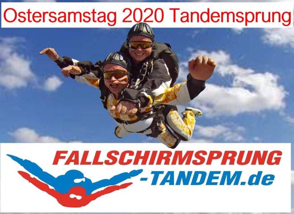 Ostern Samstag 11 April 2020 Tandemsprung Rothenburg ob der Tauber