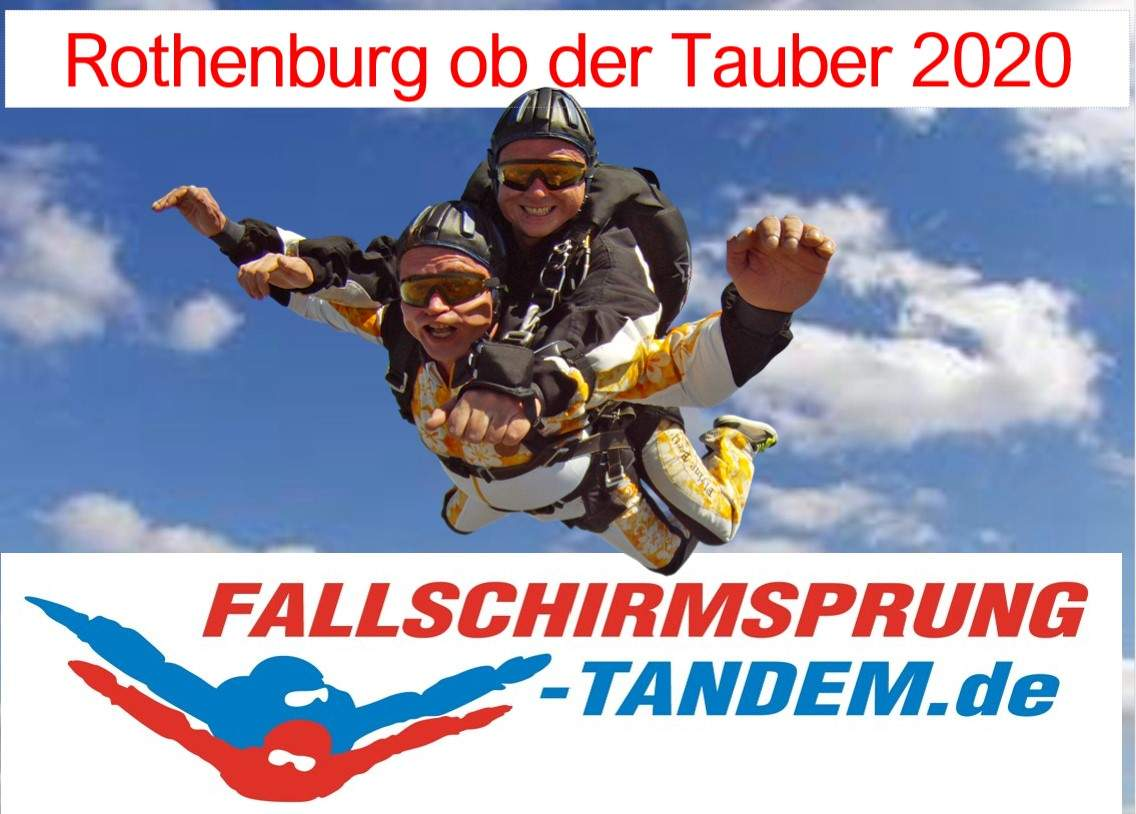 Tandemsprung Rothenburg 2020