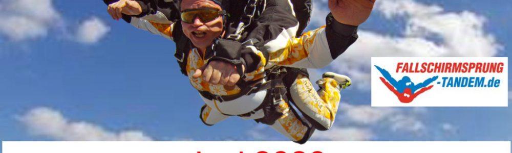Fallschirmspringen Wels in Oberösterreich Juni 2020